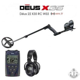 XP DEUS Full version disque X35 22 cm WS5