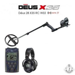 XP DEUS Full version disque X35 28 cm WS5